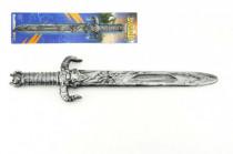 Rytířský meč s pouzdrem plast 52cm
