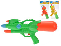 Vodní pistole 43 cm s pumpou - mix barev
