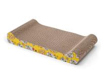 Oboustranné škrabadlo pro kočky z kartonu, Domestico