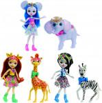 Enchantimals panenka s velkým zvířátkem - mix variant či barev
