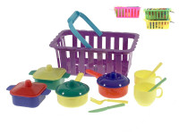 Riad v košíku - mix farieb