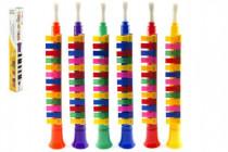 Flauta Klarinet plast 42cm - mix farieb