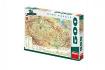 Puzzle Mapa České republiky 47x33cm 500dílků