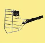 Náhubok kovový rotwailer - pes, chróm 140 x 160 x 120 mm