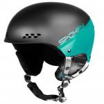 Spokey APEX lyžiarska prilba čierno-tyrkysová, vel. L / XL