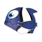 Spokey RYBKA MARLIN Detská plavecká čiapka modrá