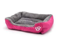 Pelech pro psy a kočky čtyřhranný, růžový, Domestico