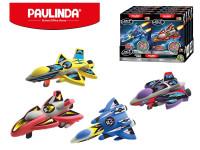 Paulinda Jet Fighters raketa na spätný chod 28 g + 14 gs doplnky - mix variantov či farieb