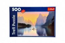 Puzzle Řeka Lijiang 48x34cm 500dílků