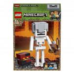 Lego Minecraft 21150 velká figurka: Kostlivec s pekelným slizem