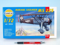 Model Morane Saulnier MS 225 1:72 9,2x15,4cm