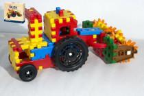 Stavebnica Blok farmár plast