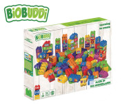 BiOBUDDi stavebnice Learning To Create Young Ones 97 ks + 3 ks základná doska