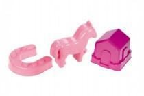 Formičky Bábovky poník plast 11x13cm 24m+