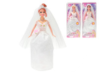 Panenka nevěsta kloubová 29cm 3 druhy