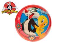 Míč 23 cm Looney Tunes - Tweety a Sylvester