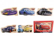 Puzzle Disney Cars, 8d, 30x17cm - mix variantov či farieb