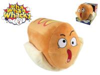 Wha Whaa Whacky Hot Dog 28 cm plyšový na baterie se zvukem