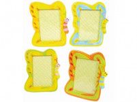 rámček na FOTO 17,5x22,5cm HÚSENICA keramický - mix variantov či farieb