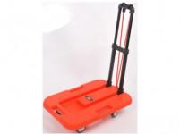 vozík plošinový skladací 750x1035x380mm PP + kov, nosnosť 100kg
