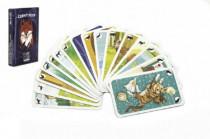 Černý Petr zvířátka společenská hra karty v papírové krabičce