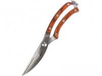 nůžky na drůbež CULINARIA 25,5cm, ocel/dřevěná rukojeť