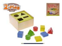 Vkládačka dřevěná 2-Play různé tvary