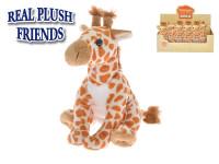 Žirafa plyšová 17 cm sedící