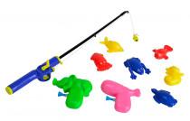 Magnetické rybičky s prutem - mix variant či barev