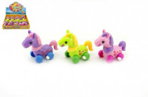 Koník na klíček plast 11cm - mix barev