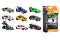 Autíčka kovová Racing 3 ks - mix variantov či farieb