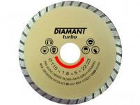 kotúč diamantový 125 DIAMANT TURBO