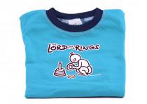 Dětské tričko Mayaka s dlouhým rukávem The Lord of the Rings - tyrkysové