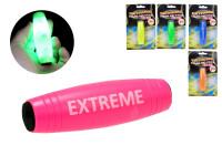 Extreme Akrobatický špalík na baterie se světlem - mix barev