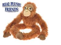 Opice plyšová dlouhé nohy 54 cm