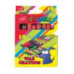 Voskovky mix 18 barev/sada