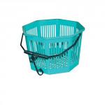 košík na štipce osmihr. pr.20x13cm plastový - mix farieb