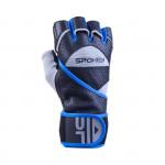 Spokey Gantlet II fitness rukavice vel. XL černo-modré