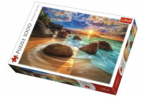 Puzzle Pláž Samudra, India 1000 dielikov