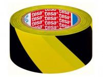 páska výstražná 50mmx33m ŽL-ČER samolepiace TESA
