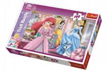 Puzzle Princezné Disney 100 dielikov 41x27,5cm