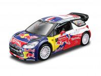 Auto Bburago Rally kov 12cm 1:32