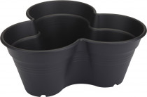 Elho kvetináč Green Basics Growset - 26 cm living black