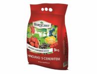 Hnojivo RAŠELINA HORTICERIT na jahody a drobné ovocie 3kg