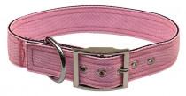 Obojok nylon ružový B & F 4,0 x 60 cm