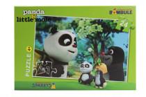 Puzzle Krtko a Panda 24 dielikov