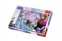 Puzzle Ľadové kráľovstvo / Frozen 260 dielikov 60x40cm