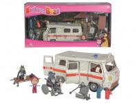 Máša a medveď Ambulancia hrací set