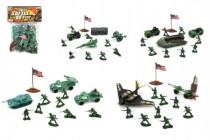 Sada vojaci plast v sáčku - mix variantov či farieb