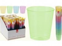 kalíšok 30ml plastová (32ks) - mix farieb